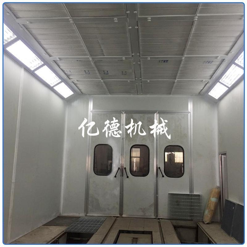现货供应家具喷烤漆房机械烤漆房喷漆房高温烤房无尘喷漆房可批发
