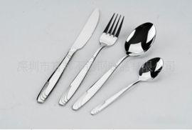 不锈钢西式刀叉勺西餐刀叉勺套装