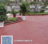 兰州透水地坪彩色混凝土地坪艺术地坪海绵城市雨季排水路面材料