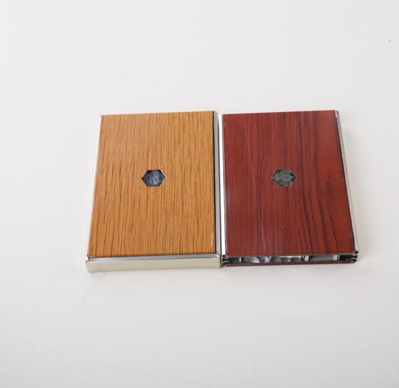 木纹铝蜂窝板广州厂家现货直供超薄吸音铝蜂窝板幕墙