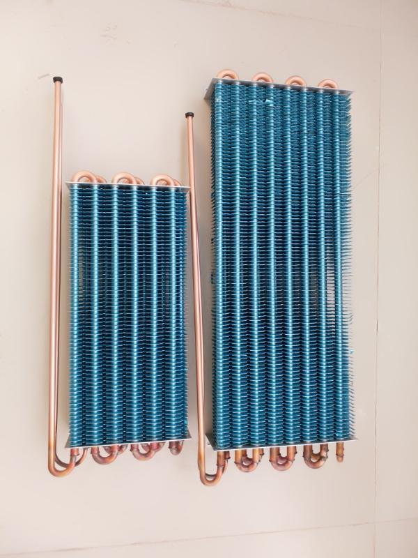 特殊定製藥品櫃陰涼櫃翅片蒸發器冷凝器換熱器河南科瑞