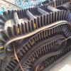 六九化工原料防腐蝕用8米長黑色橡膠皮帶輸送機Lj8