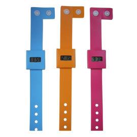 时霸手表工厂供应新款促销礼品带扣DIY环保纸手表