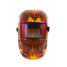 最新款头戴式电焊面罩自动变光焊帽面罩