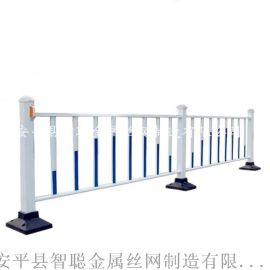 锌钢道路护栏,喷塑市政护栏网,道路隔离栏