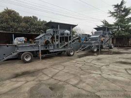 时产50吨河卵石细碎机 液压开箱制砂机破碎站生产线