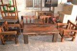 船木坑幾沙發套裝,船木厚墊沙發田園