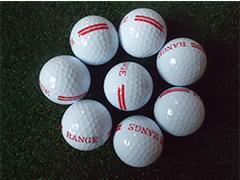 高尔夫双层练习球