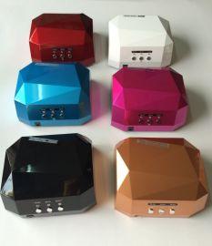 美甲钻石光疗灯,36W UV/LED两用光疗机,甲油胶烤灯可定时