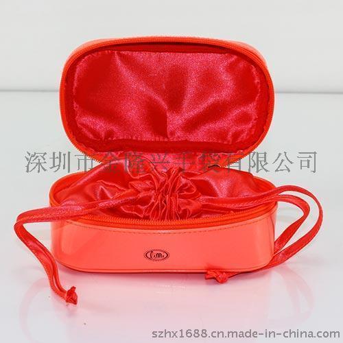 北京化妆包|PVC拉绳束口化妆包|兰蔻化妆品包|质量优势|合理|深圳化妆包厂商定制