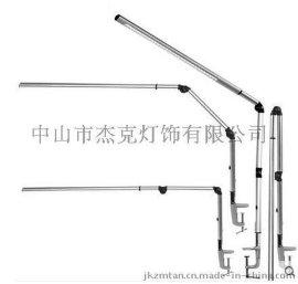 LED可折叠台灯金属铝材长臂台灯办公桌面夹子工作台灯