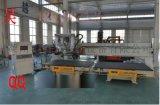 双工位多功能实木门加工中心 木工数控加工中心 实木家具加工中心 仿型铣加工中心 锯铣钻