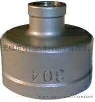 不锈钢304/316异径内牙直通/异径管箍
