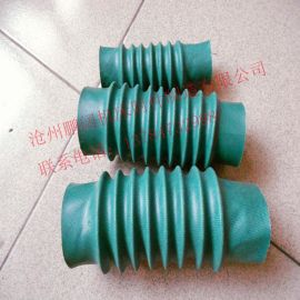 供应圆筒式丝杠拉链自然领口防尘罩,缝制伸缩丝杆防护罩
