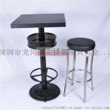 工厂直销曲木成套餐桌餐椅组简约现代餐厅奶茶店分体式桌椅组合