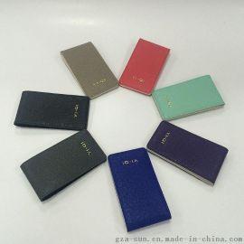 2016新款十字纹马卡龙多色卡包