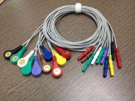 holter心電測試儀導聯線 動態心電記錄儀專用