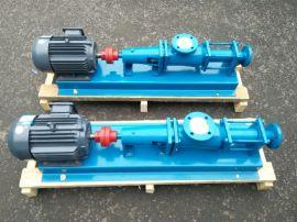 G25-1单螺杆泵、污泥杂质泵、不锈钢螺杆泵