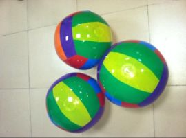 厂家 供应充气沙滩球 充气pvc沙滩波 充气气泡