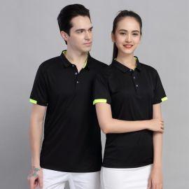 定做夏天T恤工作制服餐饮公司酒店POLO企业广告文化衫工衣印LOGOt