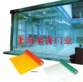 防静电PVC透明网格帘
