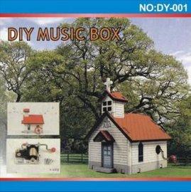 DIY小屋音乐盒