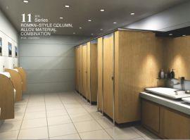 郑州卫生间隔板,12mm公共卫生间隔板,厕所隔板屏风