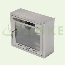 金柯XB-0020可視面板不鏽鋼信報箱 帶鎖意見箱