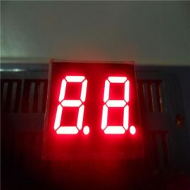 宏齐0.5英寸两位共阳红光数码管