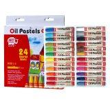 美邦儿童系列油画棒OP24 蜡笔套装 美术颜料