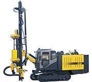 一体式潜孔钻车KT5 全液压钻机高效低噪人工舒适