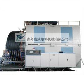 塑料挤出机  管材挤出机 HDPE中空缠绕管生产线