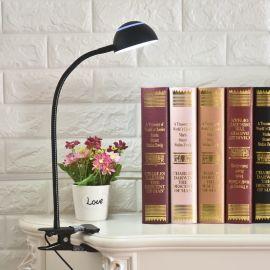 夾子臺燈 LED夾子臺燈護眼 學生書桌燈寫字閱讀燈臥室牀頭臺燈