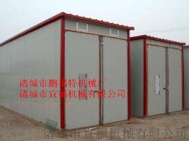 大规模辣椒空气能热泵烘干房