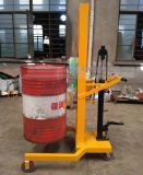 DTF450C 载重450kg升1.1米液压油桶搬运车手拉油桶车 油桶堆高车