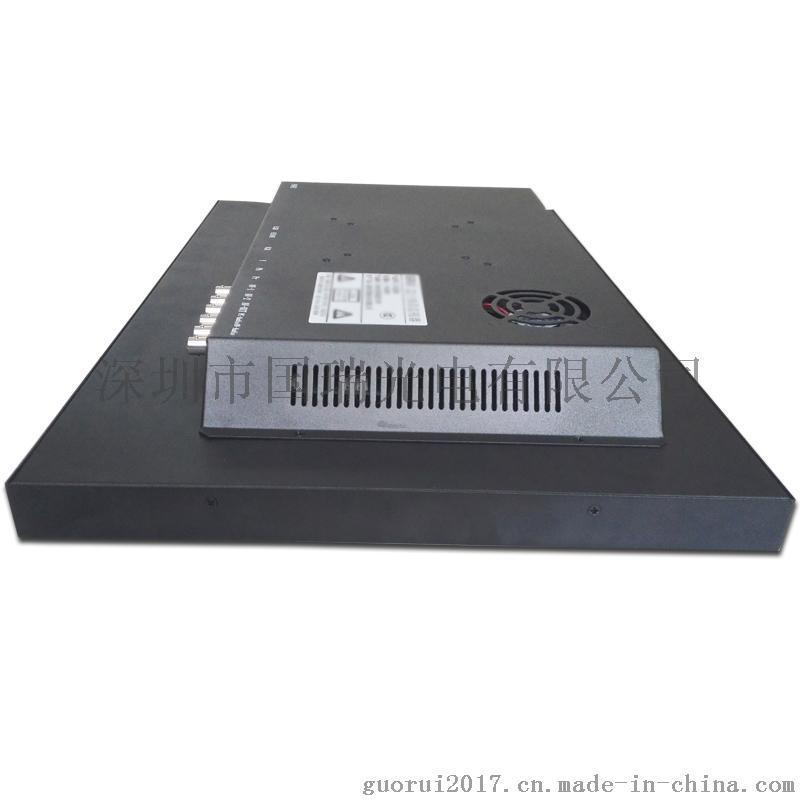 22寸LED高清液晶监视器监控显示器工业级安防电视墙厂家直销报价