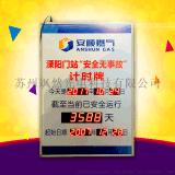 安全运行记录牌显示屏安全生产天数电子屏板计时牌电子看板可定制