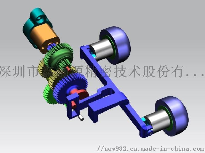 按摩器静音齿轮箱及传动机构设计