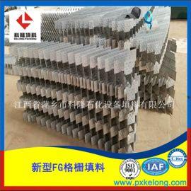 具有抗堵塞抗结焦性能的不锈钢FG蜂窝格栅填料
