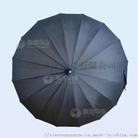 16骨直杆晴雨伞、高密度防水伞面,加厚钢槽骨架、更强防风、做工精良。男士身份的象征