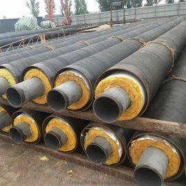 河南钢套钢蒸汽保温钢管,直埋热水保温管