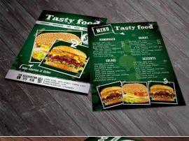 广告宣传单三折页印刷定制 彩页产品说明书单页设计