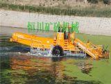 直销水生植物治理船,高效全液压碎草船收割