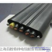【厂家直销】百胜高质量YFFB耐油耐寒耐磨行车起重机电缆,扁电缆**