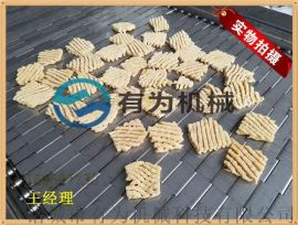 豆腐串生产设备,豆腐串油炸机