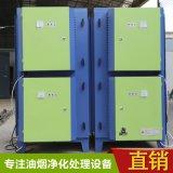 厂家直供 广东惠州油烟净化器 工业厨房餐饮废气静电无烟高低空高效油雾过滤设备