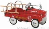 金属精品玩具童车 带消防梯水枪 仿真消防车 儿童脚踏车