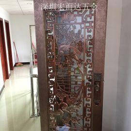 厂家直销门花 精雕铝门花 不锈钢门花配件定制