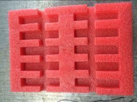 红色珍珠棉加工成型