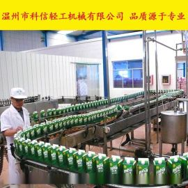 全自动无花果饮料生产线|小型饮料制作设备|整套果汁饮料加工机械